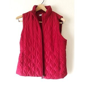 Croft and barrow medium red vest